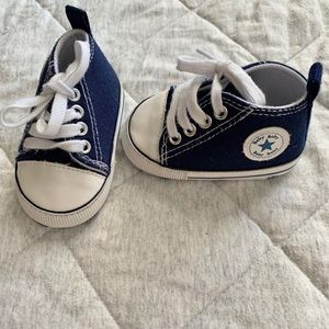 Converse inspired soft sole baby shoes